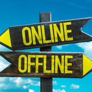 When Offline becomes Online