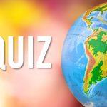 Quiz Geographie Mai 2018